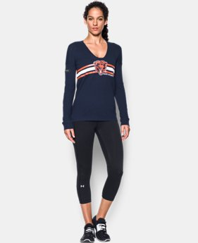 New Arrival Women's NFL Combine Authentic UA Collegiate Long Sleeve T-Shirt  LIMITED TIME: FREE SHIPPING 7 Colors $49.99