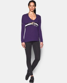 Women's NFL Combine Authentic UA Collegiate Long Sleeve T-Shirt   1 Color $49.99