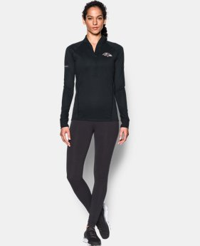 Women's NFL Combine Authentic UA Tech™ ½ Zip  4 Colors $59.99