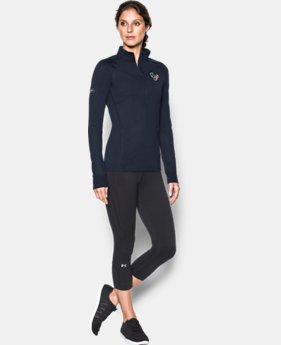 Women's NFL Combine Authentic UA Tech™ ½ Zip   $44.99