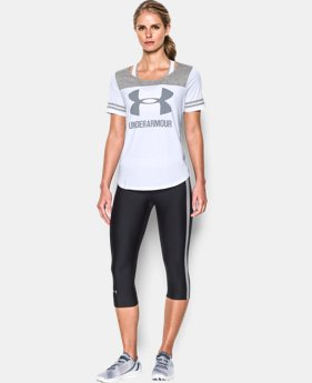 Women's UA Graphic Baseball T LIMITED TIME: FREE SHIPPING 1 Color $34.99
