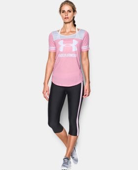 New Arrival Women's UA Graphic Baseball T  1 Color $34.99