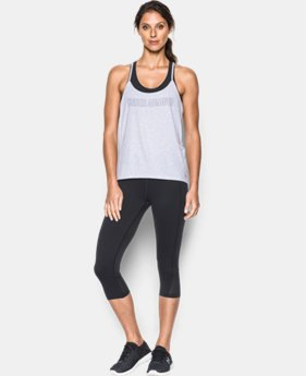 Women's UA Word Mark Strappy Tank