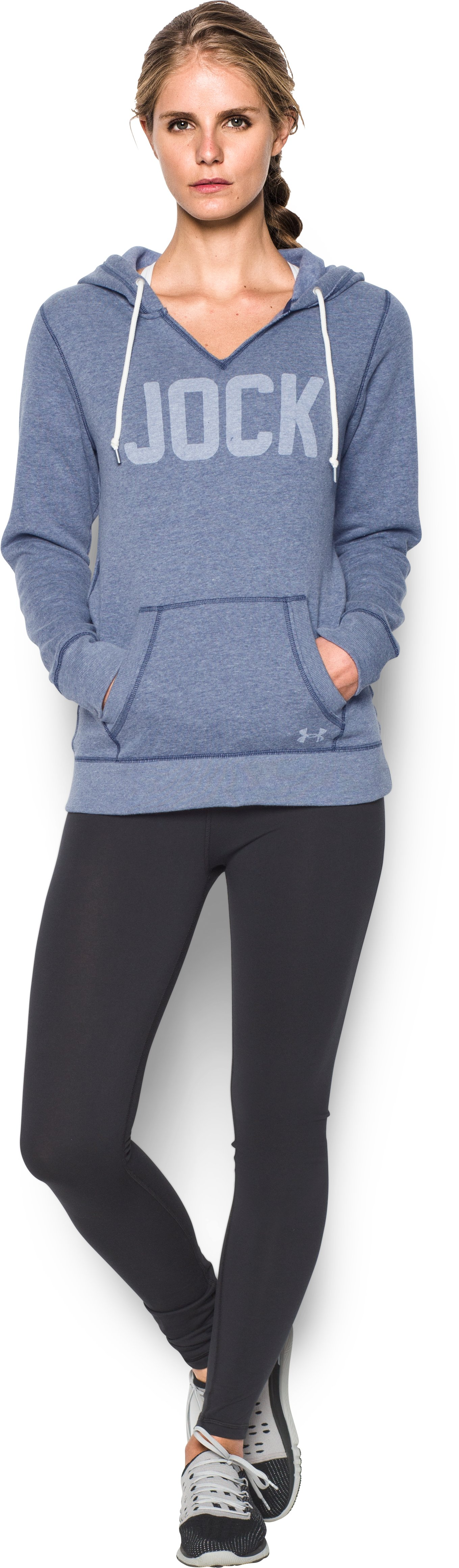 Women's UA Favorite Fleece - Jock, Midnight Navy