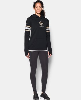 New Arrival Women's NFL Combine Authentic UA Storm Armour® Fleece Hoodie  18 Colors $79.99