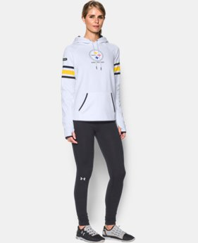 New Arrival Women's NFL Combine Authentic UA Storm Armour® Fleece Hoodie  5 Colors $79.99