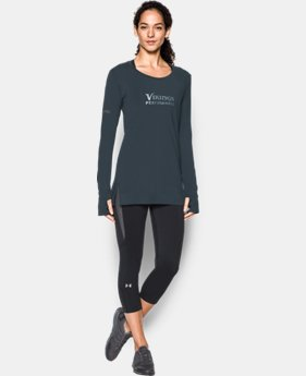 Women's NFL Combine Authentic UA Pinnacle Long Sleeve T-Shirt  1 Color $54.99