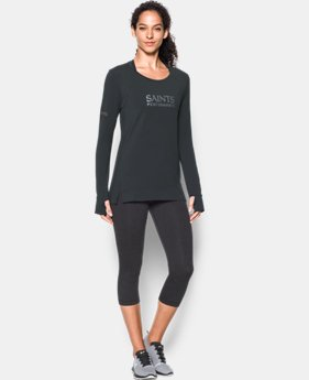 Women's NFL Combine Authentic UA Pinnacle Long Sleeve T-Shirt  1 Color $41.99