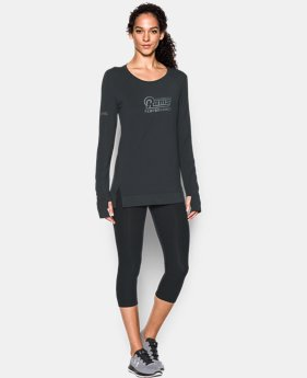 Women's NFL Combine Authentic UA Pinnacle Long Sleeve T-Shirt LIMITED TIME: FREE U.S. SHIPPING 1 Color $41.99