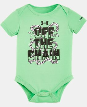 Best Seller Boys' Newborn UA Graphic Bodysuit  LIMITED TIME: FREE SHIPPING 1 Color $14.99
