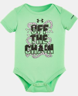 New Arrival Boys' Newborn UA Graphic Bodysuit  LIMITED TIME: FREE SHIPPING 1 Color $11.99