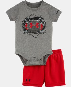 New Arrival Boys' Newborn UA Rookie Pro Legend Bodysuit Set  1 Color $32.99