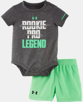 Boys' Newborn UA Rookie Pro Legend Bodysuit Set LIMITED TIME: FREE SHIPPING  $32.99