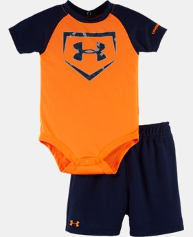 Boys' Newborn UA Rookie Pro Legend Bodysuit Set LIMITED TIME: FREE SHIPPING 2 Colors $32.99