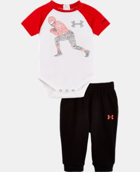 Boys' Newborn UA Graphic Pant Set