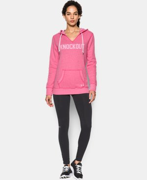 Women's UA Favorite Fleece- Knockout  1 Color $64.99