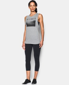 New Arrival Women's UA No Limits Muscle Tank LIMITED TIME: FREE SHIPPING 1 Color $29.99