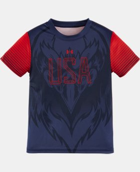 New Arrival Boys' Toddler UA Country Pride T-Shirt LIMITED TIME: FREE SHIPPING 1 Color $27.99