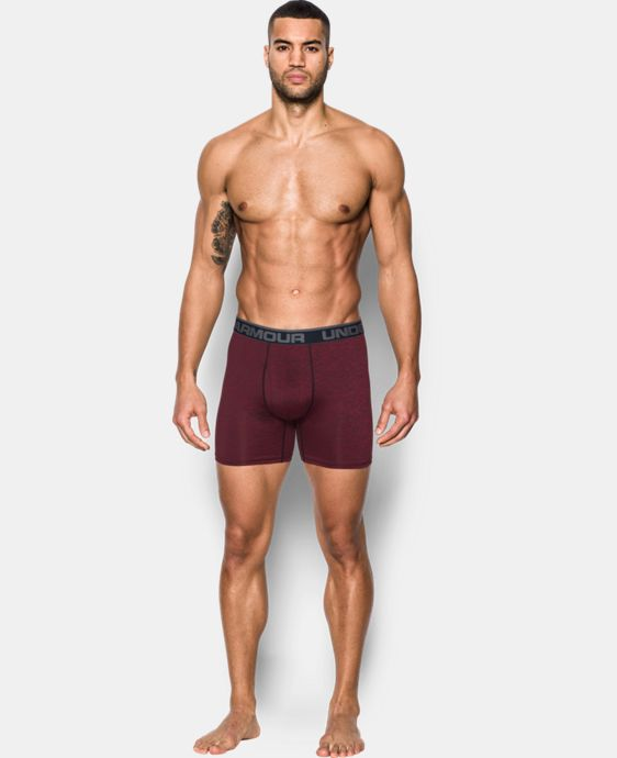 "Men's UA Original Series 6"" Twist Boxerjock®  1 Color $25"