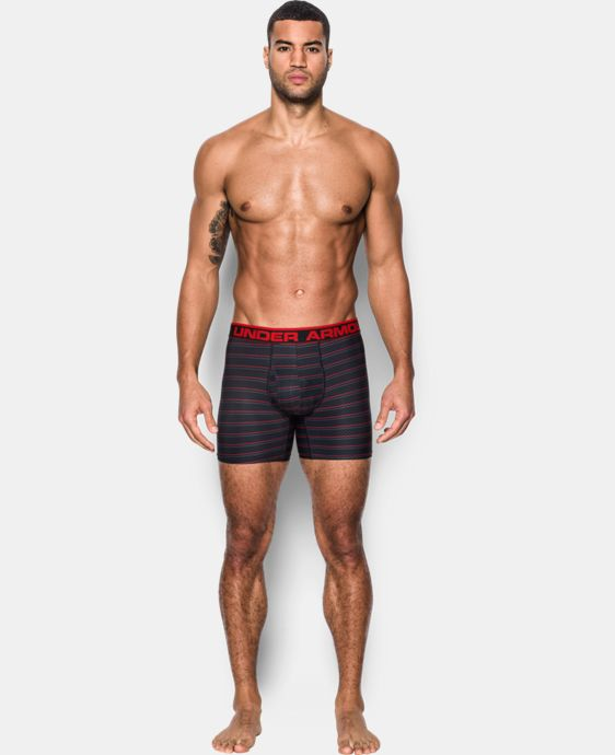 "New Arrival Men's UA Original Series 6"" Printed Boxerjock®  7 Colors $29.99"