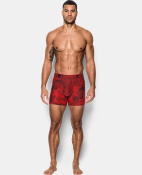 "New Arrival Men's UA Original Series 6"" Printed Boxerjock®  1 Color $29.99"