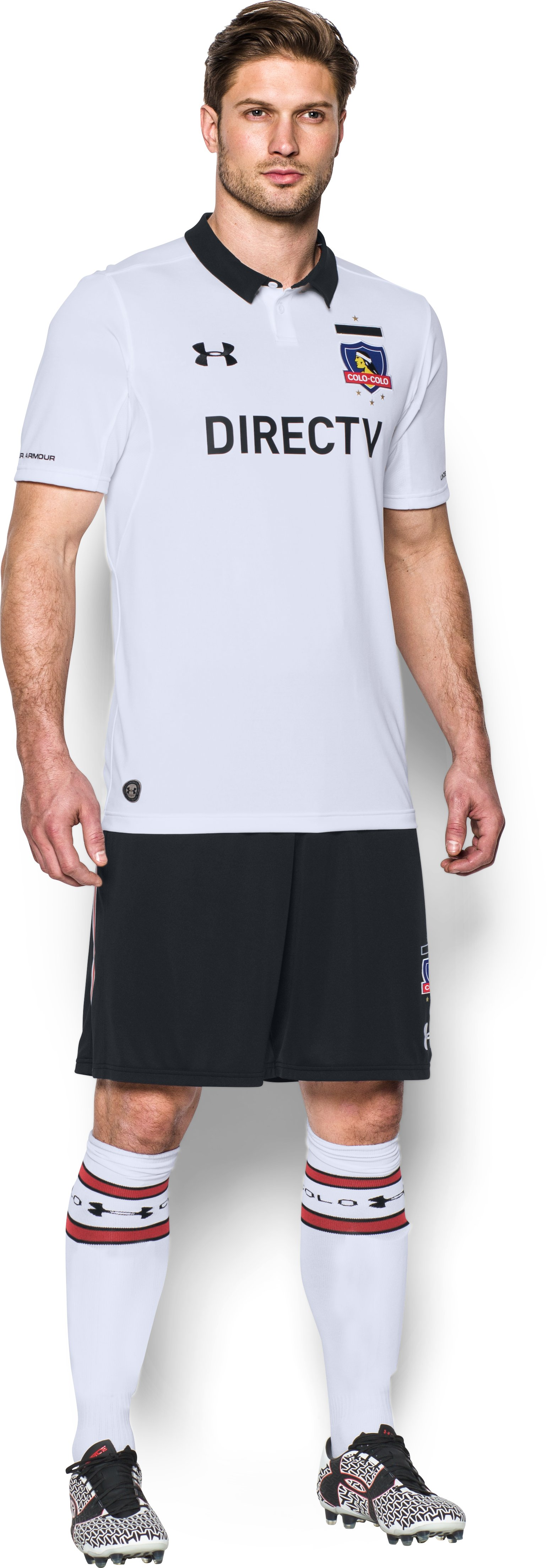Men's Colo-Colo 16/17 Home Replica Jersey, White, zoomed image
