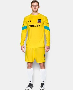 New to Outlet Men's Colo-Colo 16/17 Goalkeeper Replica Jersey  1 Color $51.99