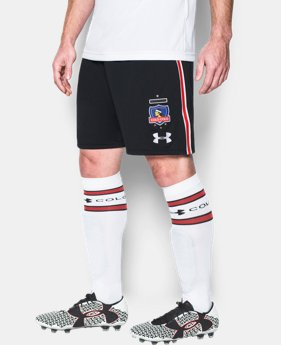 Men's Colo-Colo 16/17 Replica Shorts  2 Colors $27.99