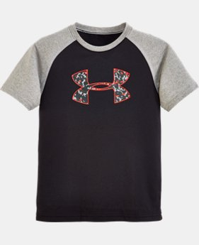 Boys' Toddler UA Micro Camo Raglan T-Shirt