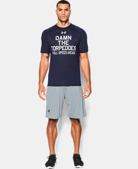 Men's Navy Damn The Torpedoes T-Shirt
