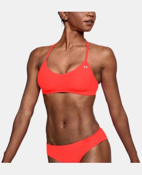 Women's UA Microthread Swim Low Top  1  Color Available $45
