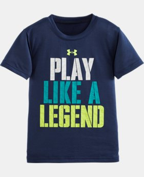 Boys' Pre-School UA Play Like A Legend Short Sleeve T-Shirt LIMITED TIME: FREE SHIPPING 1 Color $13.99