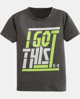 Boys' Toddler UA I Got This Short Sleeve T-Shirt LIMITED TIME: FREE SHIPPING  $17.99
