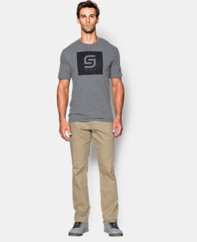 Men's Jordan Spieth UA Box Logo T-Shirt  1 Color $22.99