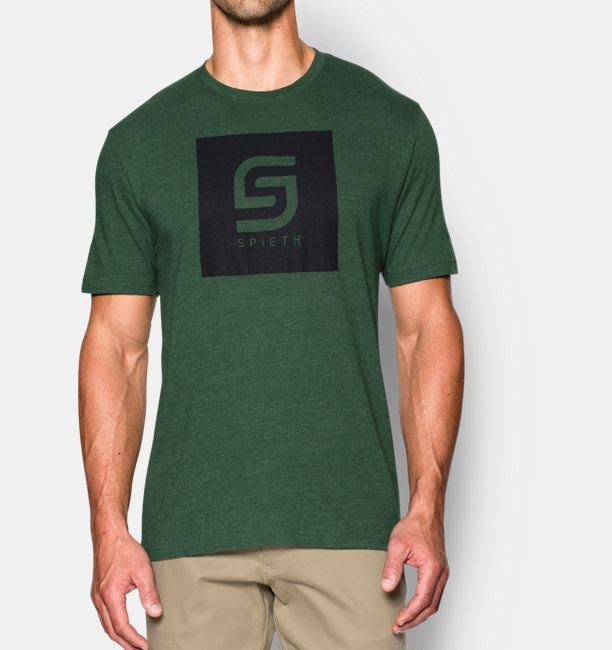 d10d57bef0107a Men s Jordan Spieth UA Box Logo T-Shirt
