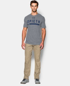 Men's Jordan Spieth UA Texas Flag T-Shirt