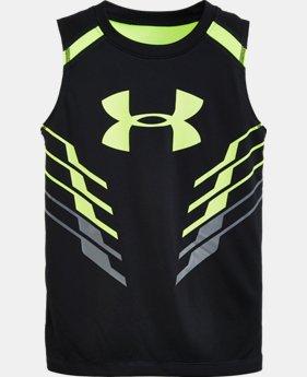 Boys' Pre-School UA Armour Up Sleeveless Tank