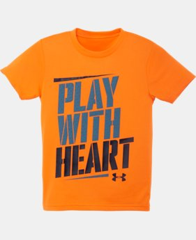 Boys' Infant UA Play With Heart T-Shirt LIMITED TIME: FREE SHIPPING 2 Colors $15.99
