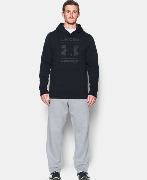 Men's UA Rival Fleece Logo Hoodie LIMITED TIME: FREE U.S. SHIPPING 1 Color $41.99