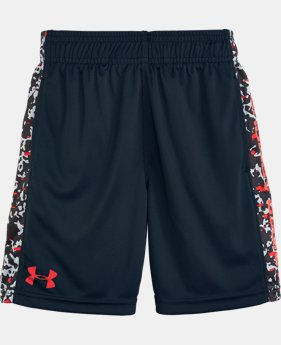 Boys' Toddler UA Mega Micro Camo Eliminator Shorts