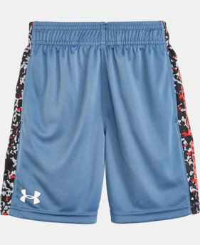 Boys' Pre-School UA Mega Micro Camo Eliminator Shorts