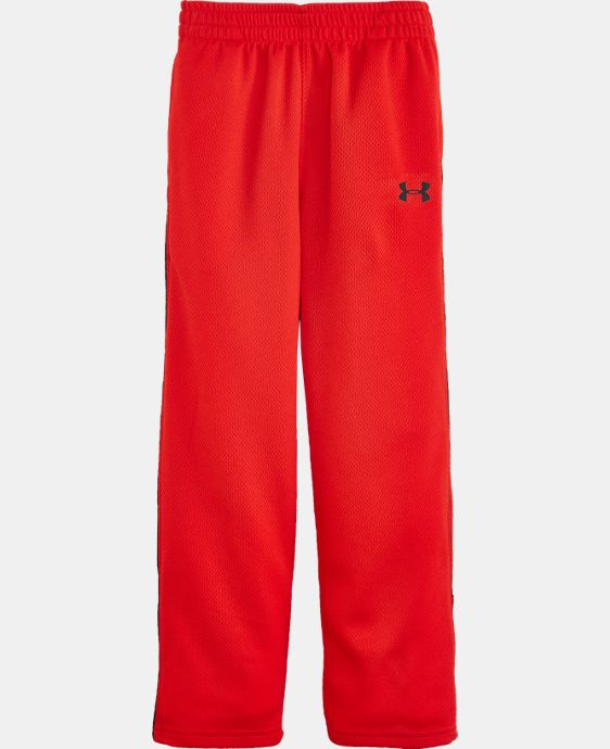 Boys' Pre-School UA Midweight Warm Up Pants LIMITED TIME: FREE U.S. SHIPPING  $26.99