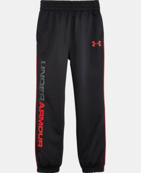 Boys' Toddler UA Tapered Warmup Pants   $27.99