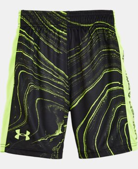 Boys' Pre-School UA Marbled Eliminator Shorts