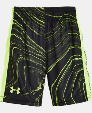 Boys' Pre-School UA Marbled Eliminator Shorts LIMITED TIME: FREE U.S. SHIPPING  $18.99
