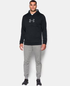 Best Seller  Men's UA Storm Armour® Fleece Logo Hoodie  1 Color $64.99