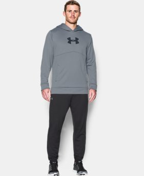 Men's UA Storm Armour® Fleece Logo Hoodie LIMITED TIME: FREE SHIPPING 3 Colors $48.74