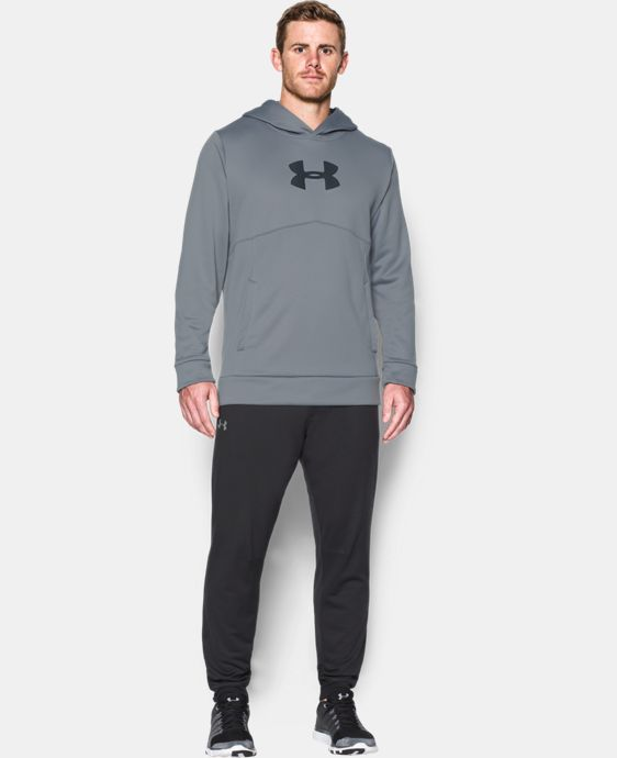 Men's UA Storm Armour® Fleece Logo Hoodie LIMITED TIME OFFER + FREE U.S. SHIPPING 1 Color $39.99