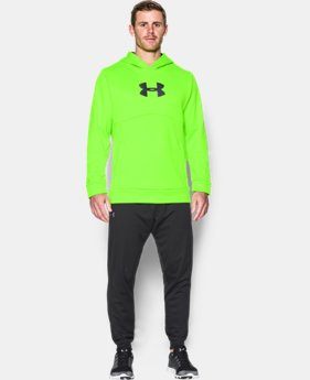New Arrival  Men's UA Storm Armour® Fleece Logo Hoodie   $64.99