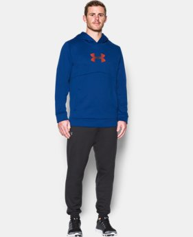 Men's UA Storm Armour® Fleece Logo Hoodie  1 Color $36.74